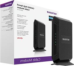 NETGEAR DOCSIS 3.0 High Speed Cable Modem Certified for XFIN