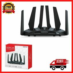 Dual Band WiFi Gaming Router Wide Coverage 1900 Mbps Smart G