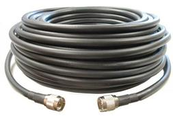 100 feet of Equivalent Ultra Low Loss Coax Cable *Black Colo