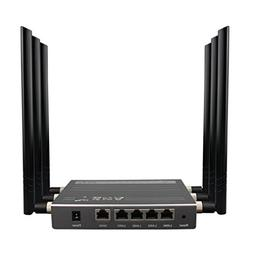 Gotd 300Mbps 5-Port Wireless Router Fastest High Speed Wifi