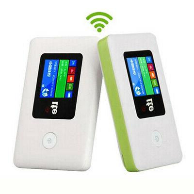 Portable 4G WIFI Router LCD 100Mbps 3G 4G For Vehicle Users