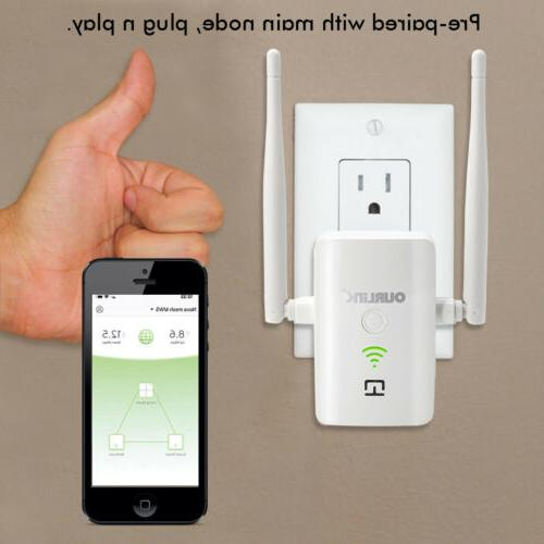 OURLINK 1200mbps Dual Band Home WiFi Mesh System Replaces WiFi Extenders Routers