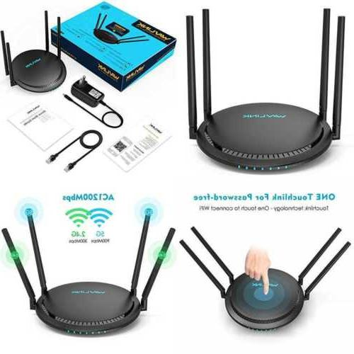 1200mbps smart wifi router ac1200 dual band