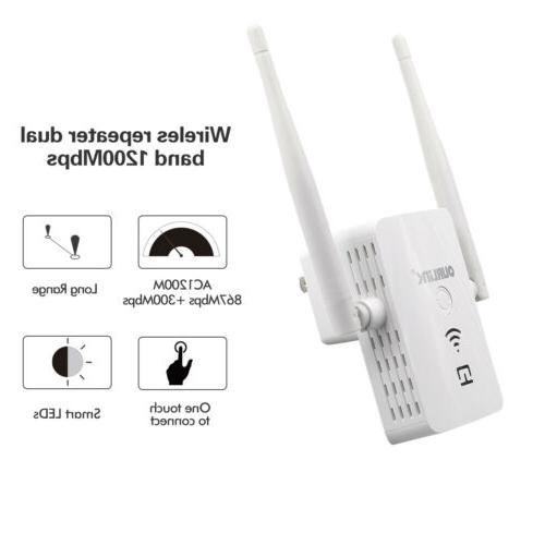 1200Mbps Range Extender Repeater Signal A