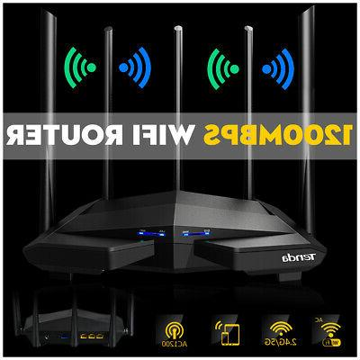 1200Mbps Wireless Dual Band WiFi Dual Antennas Home