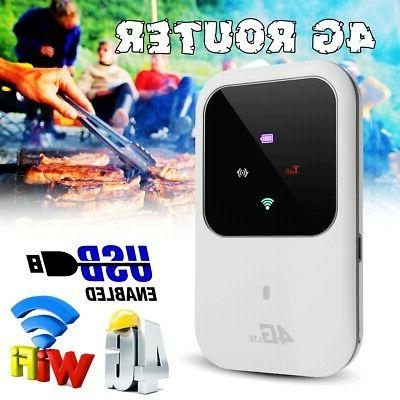 150mbps portable 4g wifi router sim lte