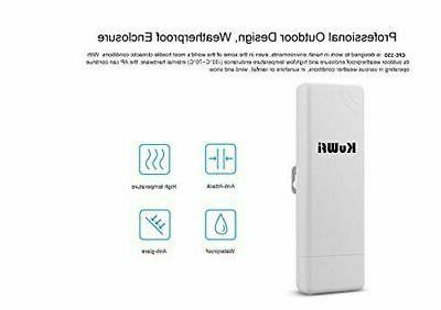 KuWFi 150Mbps Point Outdoor Bridge Routers