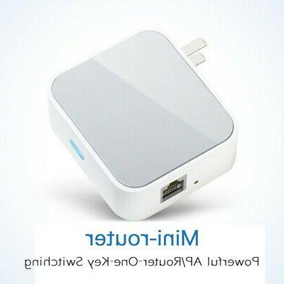 1pc Portable TP-Link Wireless Router Pocket Size Small WiFi