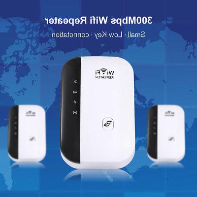 300Mbps Wifi Repeater Wireless-N 802.11 Signal Booster