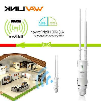 Wavlink High Power AC600 Wireless Outdoor AP/Repeater Networ