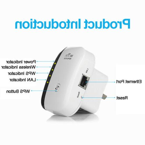 300Mbps Wireless-N 802.11 Booster Extender AP Router