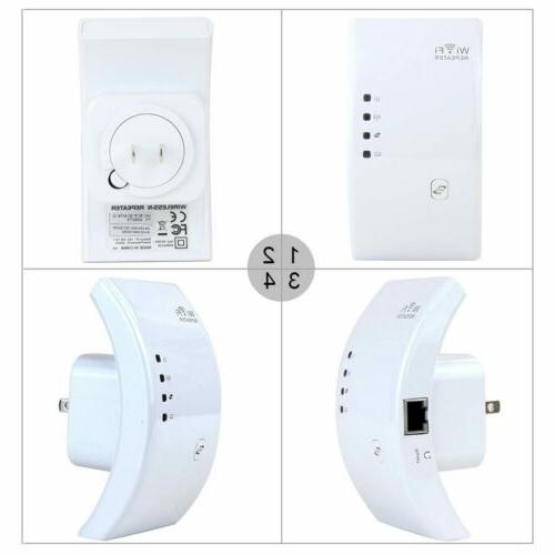 300Mbps Wifi Repeater Network Router Signal Booster Range