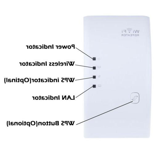 300Mbps Wifi Repeater Network Signal Booster