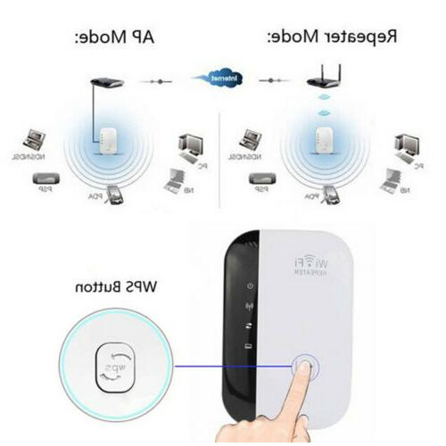 Wifi WLAN Wireless Repeater Extender 300Mbps 802.11N Router