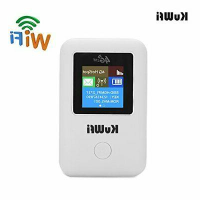 KuWFi 4G Router with Support B1/B3/B5 802.11