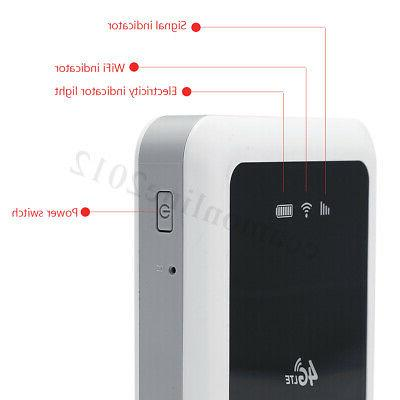 4G 150Mbps Wireless Mobile Wifi Hotspot