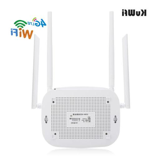 4G Wifi Indoor Wireless CPE Router Port&SIM Card