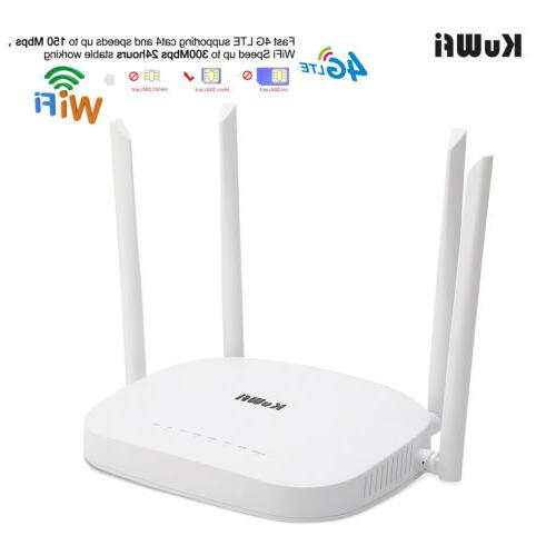 4g lte cpe router unlocked 300mbps wireless