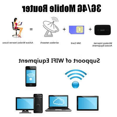 4G WIFI Wireless Router Mobile 150Mbps Unlocked