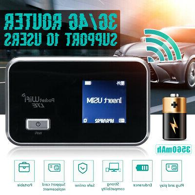 4g lte lcd wifi wireless router mobile
