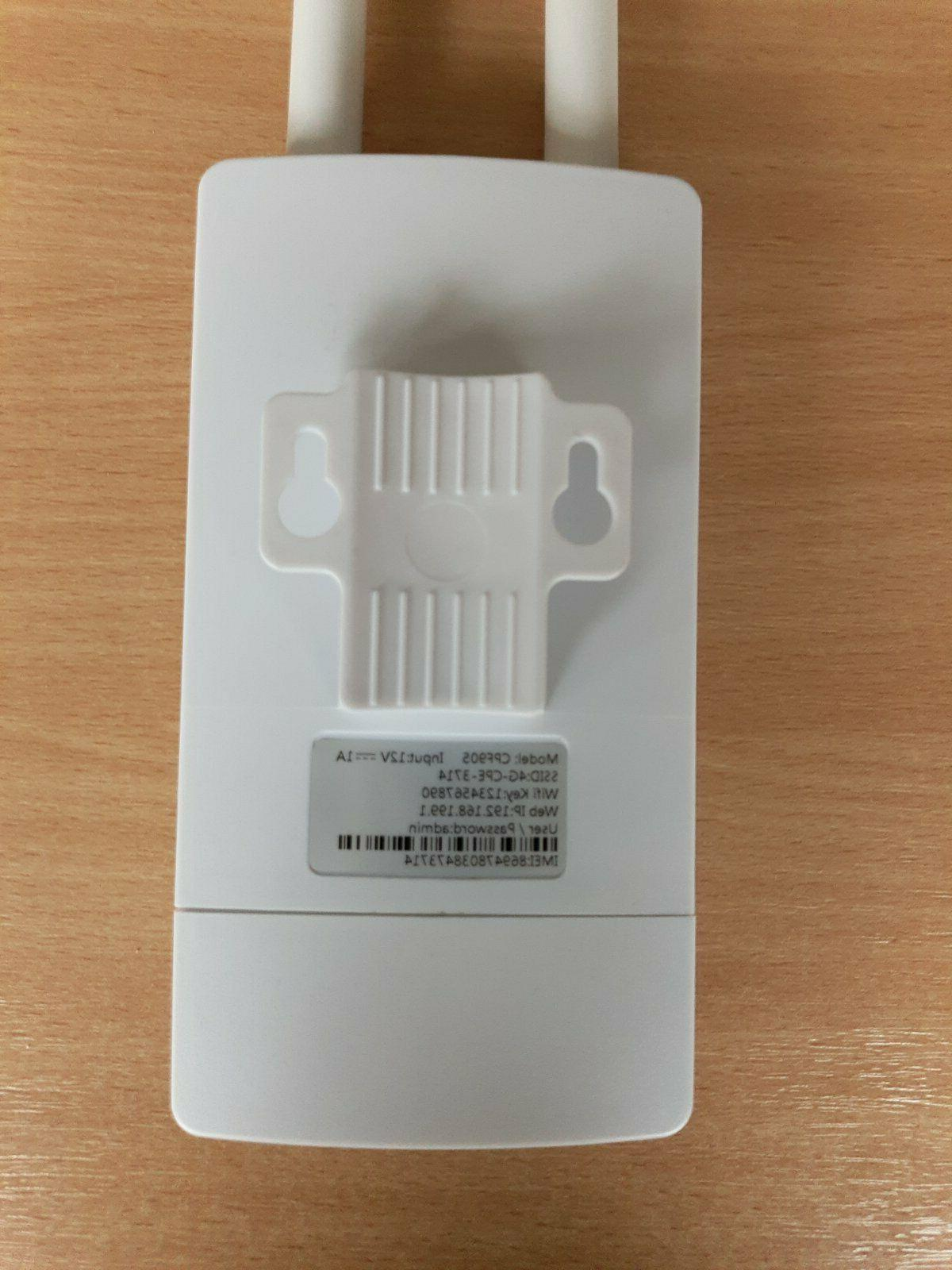4G Outdoor CPE WiFi Mbps All 4G LTE
