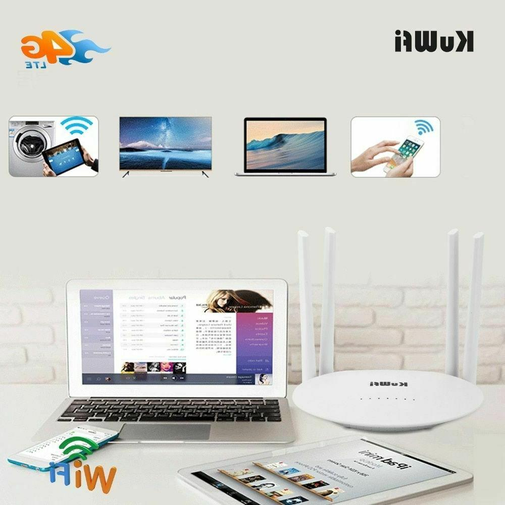 4G Router Wireless Mobile Sim Card
