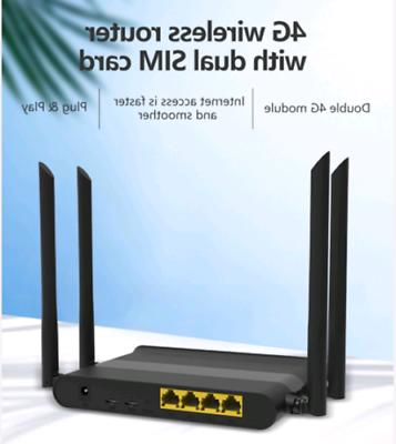 KuWFi 4G LTE Router Wireless With Antenna use