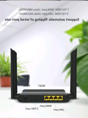 KuWFi LTE Wireless Router With 5dBi use in