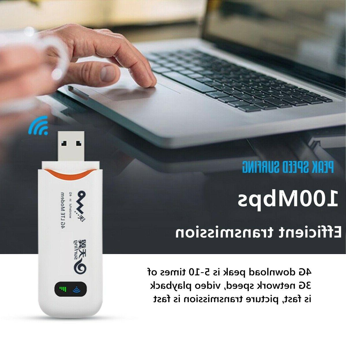 4G WiFi Wireless Dongle Mobile