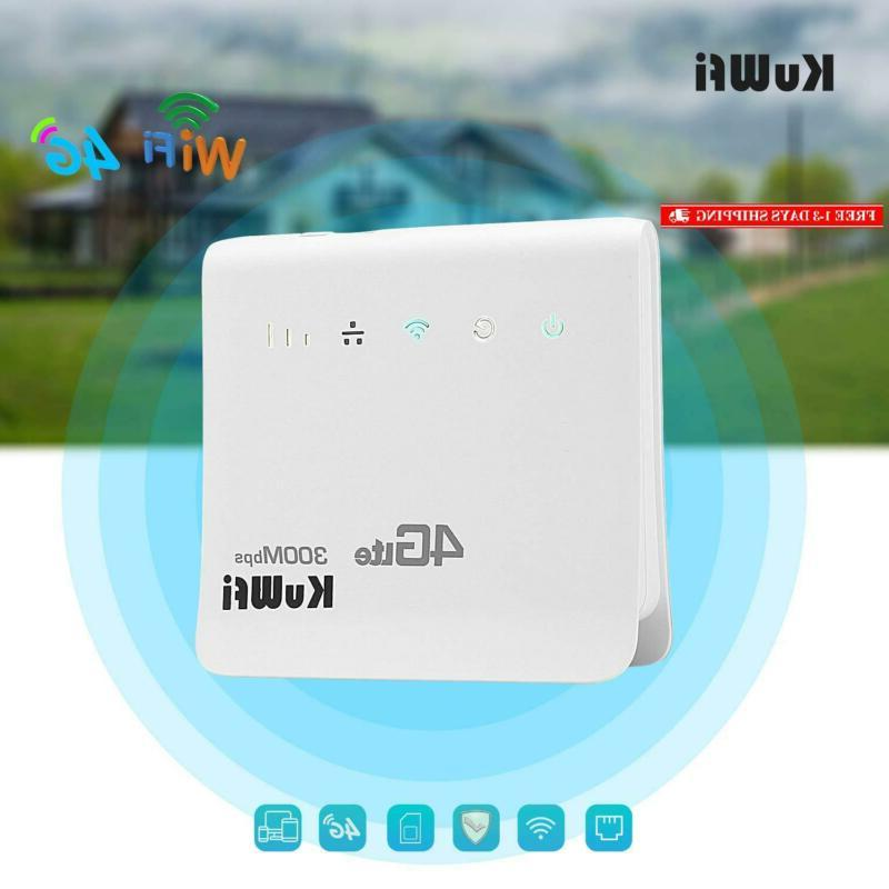 Kuwfi 4G Unlocked Cpe Mobile Wifi Router For