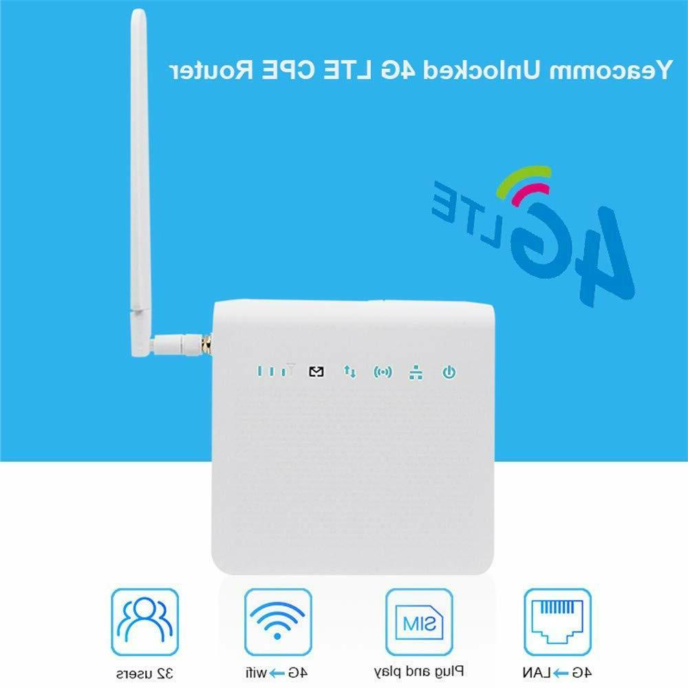 4G Wireless Indoor CPE Home 4G Router150Mbps