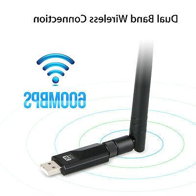 600Mbps 2.4/5Ghz Extender Signal Network Router