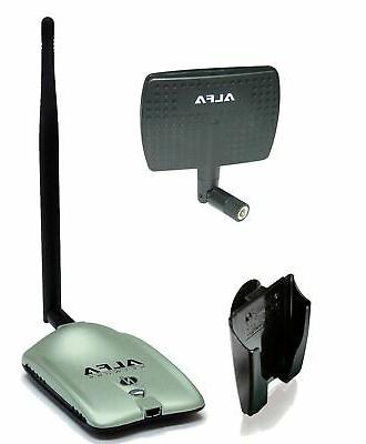 Alfa AWUS036NH 2000mW 2W 802.11g/n High Gain USB Wireless G/