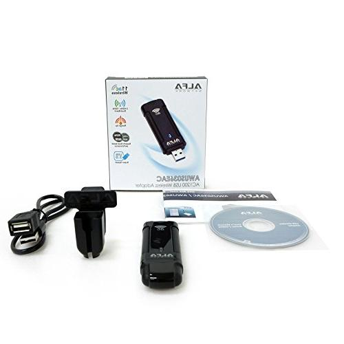 Alfa Wireless Adapter for Ultimate w/Clip Included