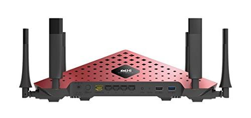 D-Link AC3200 Ultra Tri-Band Wi-Fi Router High