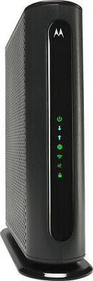 Motorola - Wireless-ac1900 Dual-band Wi-fi Router - Black