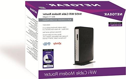 NETGEAR 3.0 Cable Certified Comcast, Spectrum, &