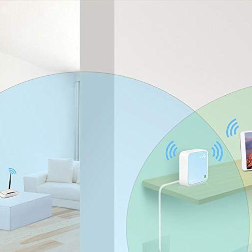 TP-Link Nano WiFi Bridge/Range Extender/Access Modes, Mobile Pocket