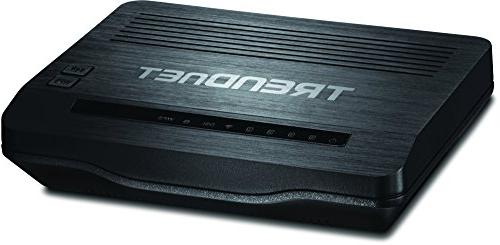 TRENDnet N300 Wireless ADSL 2+ Modem Router, Compatible with