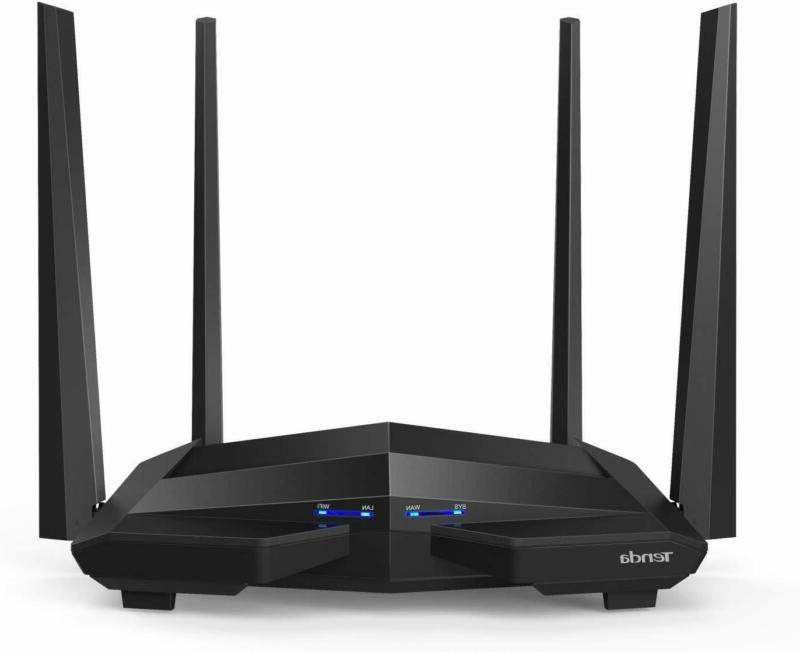 Tenda Ac10U Smart Gigabit Wi-Fi Router Ac1200 Dual Band W/Pa