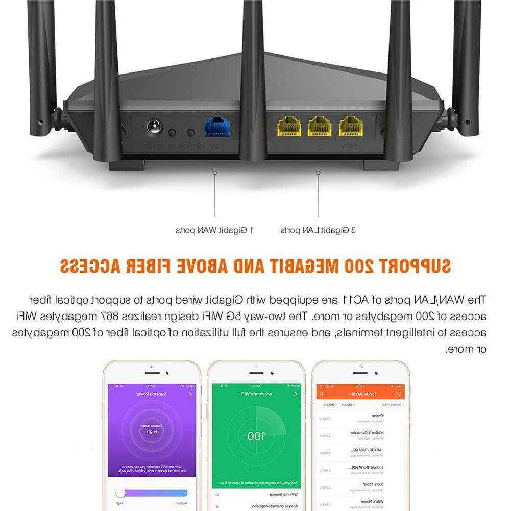 Tenda AC11 2.4/5GHz Dual Band Router Repeater