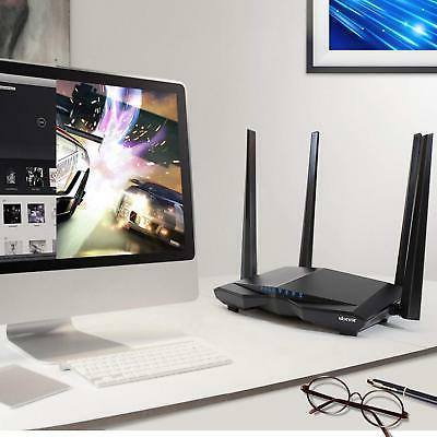 AC1200 Dual Fast Ethernet Home Router WiFi Wireless