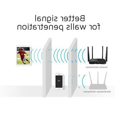 AC1200 Dual Ethernet Router WiFi Network