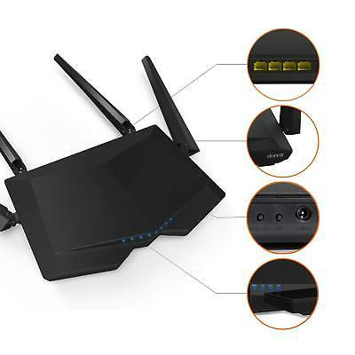 AC1200 Band Fast Ethernet Home WiFi Games Network