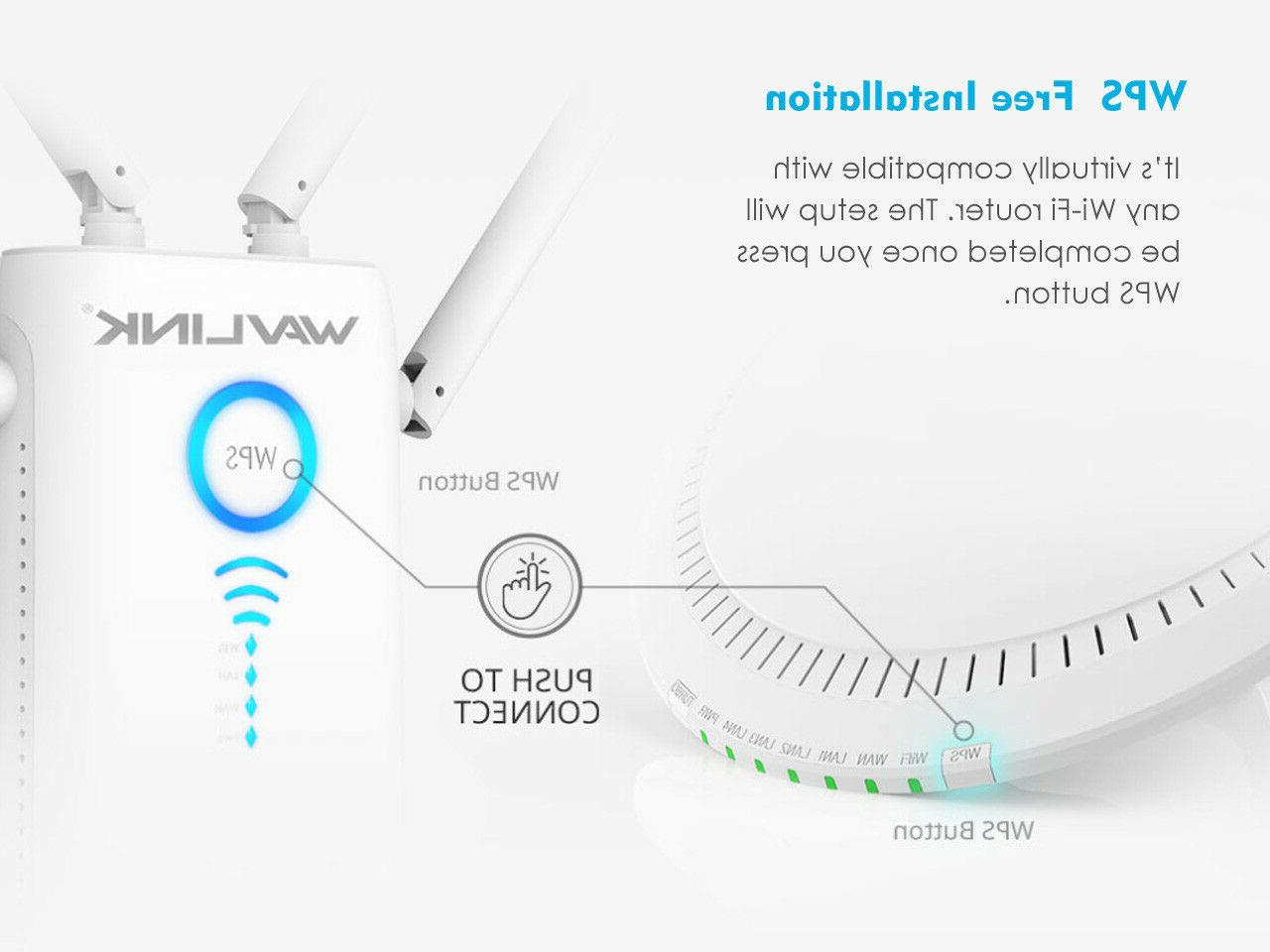 1200 Mbps Wi-Fi Gigabit Router,High Power Support 2.4G&5G