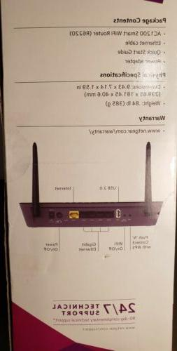 NETGEAR AC1200 Smart Router Dual Band Router