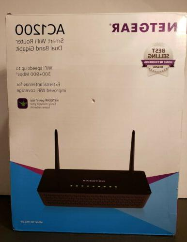 ac1200 smart wifi router dual band gigabit