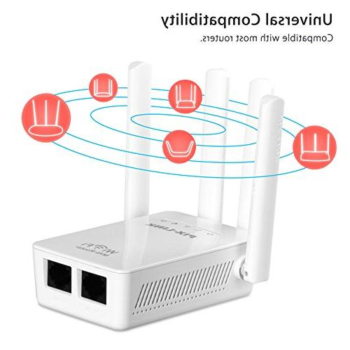 EEEKit Band 300Mbps WiFi Range Extender/Access Point/Wireless Router WiFi Booster Signal 4 Antennas