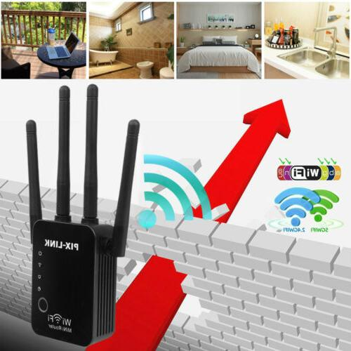 ac1200 wifi repeater and router 2 4g