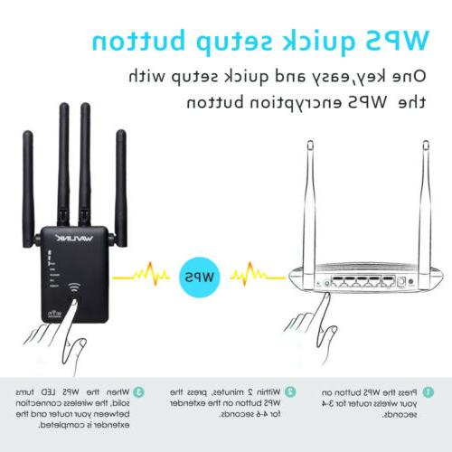 AC1200 Wireless Extender Router Band
